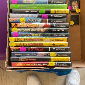 GameCube Games Mario Party 5 Luigis Mansion Pokémon Xd for Sale in San Antonio, TX