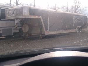2001 34foot 3 door elntr race trailer for Sale in Federal Way, WA