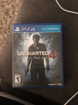 """Uncharted 4"" for ps4 for Sale in Gaithersburg, MD"