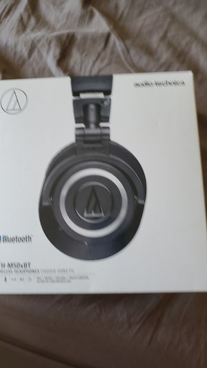 Audio_technica bluetooth headphones retails $199 for Sale in Apple Valley, MN