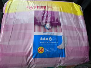 Free Poise Pads (Level 4) for Sale in NEW PRT RCHY, FL