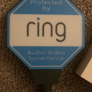 Solar Ring Doorbell Sign for Sale in Glendale, AZ