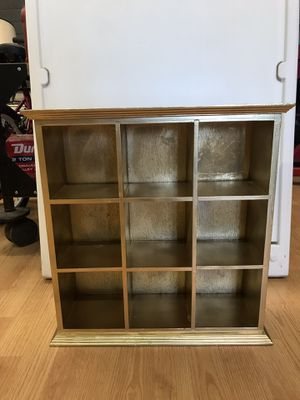 Small gold shelf for Sale in Glendale, AZ
