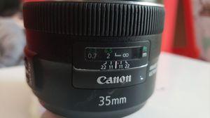 Canon 35mm 1:2 IS USM for Sale in Marietta, GA