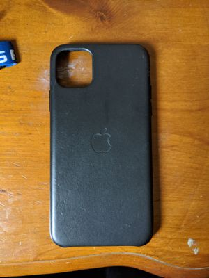 IPhone 11 Pro Max Apple Branded Leather Case for Sale in Covina, CA