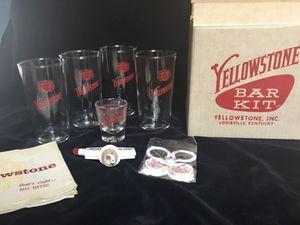 Bourbon bar kit from Yellowstone bourbon co. for Sale in Mesa, AZ