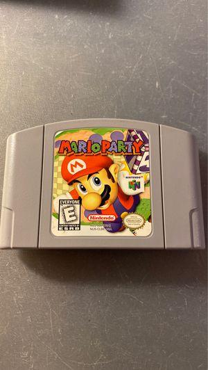 Mario party nintendo 64 n64 for Sale in Orange, CA