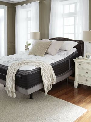 Elite Brand New Queen Pillowtop with mattress and box spring set for Sale in Griffith, IN