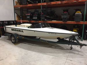 1998 moomba boomerang 19' ski / wakeboard boat with trailer will trade for Sale in Westford, MA