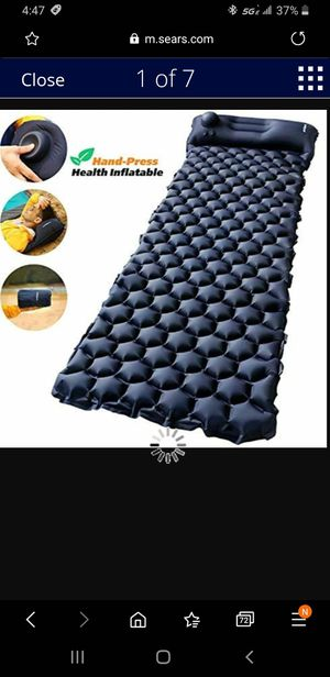 AirExpect Air Mattress AirBed with Rechargeable Electric Pump Camping Twin Size Fun Gift for Sale in Las Vegas, NV