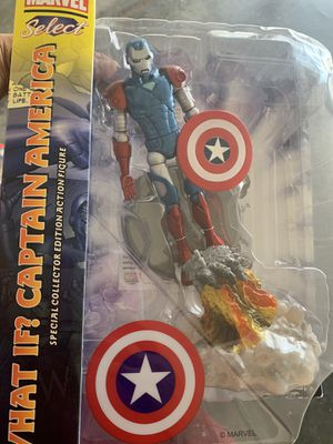 Marvel select what if captain America for Sale in Sunnyvale, CA