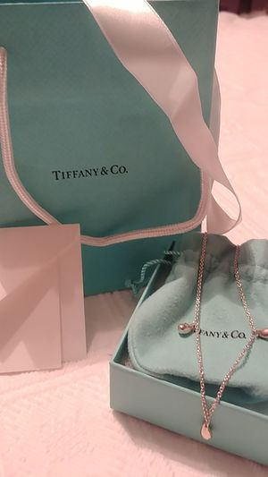 Tiffany and Co. Elissa Peretti Teardrop Necklace for Sale in McKeesport, PA