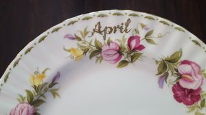 "China plate ""April"" for Sale in Saint Charles, MO"