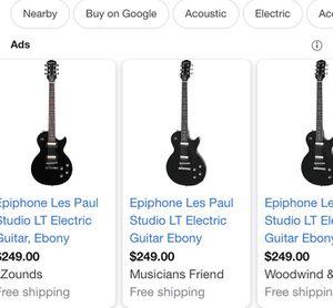 Epiphone LT Studio Les Paul Electric Guitar & Acoustic G20 20W Amplifier for Sale in Foxborough, MA