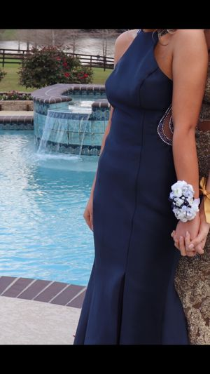 Navy Blue prom dress for Sale in Carriere, MS
