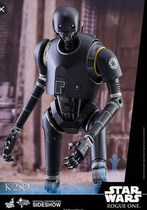 Hot toys K2SO figure with box for Sale in Anaheim, CA