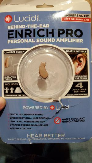 Hearing Aid lucid audio for Sale in Lincoln Park, MI