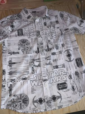 Star Wars Short Sleeve Button Up Shirt Size M for Sale in VA, US