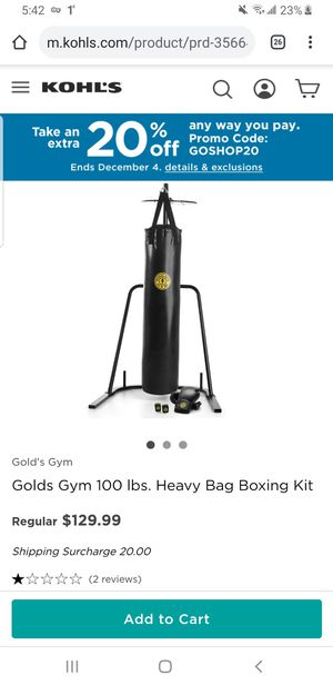 punching bag 100lbs for Sale in Trenton, NJ