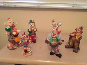 6 different clowns for Sale in Boynton Beach, FL