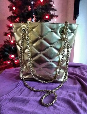 Y & S original gold handbag purse for Sale in Savannah, GA