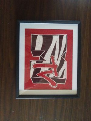 Framed cloth picture for Sale in San Angelo, TX