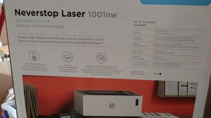 Hp never stop laser 1001nw for Sale in Terre Haute, IN
