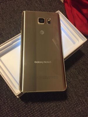 """Samsung Galaxy Note 5 ,,Factory UNLOCKED Excellent CONDITION """"aS liKE nEW"""" for Sale in Fort Belvoir, VA"""