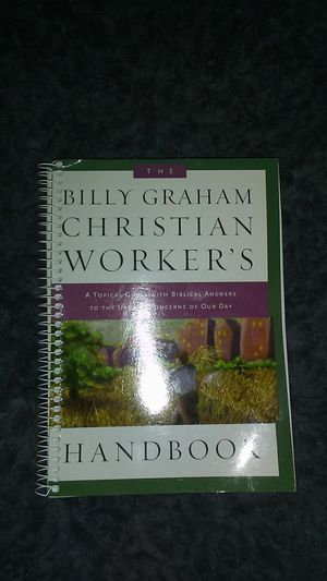 Billy Graham Christian worker's handbook for Sale in Ishpeming, MI