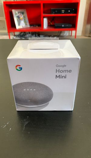 Google mini sealed new for Sale in Huntington Beach, CA