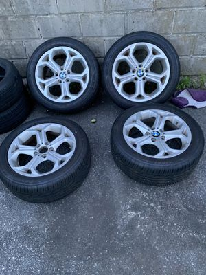 Bmw tire good conditions all 4 for Sale in Providence, RI