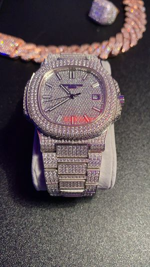Iced out watch for Sale in Hialeah, FL