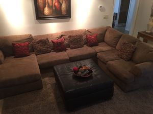 Sectional sofa, tv stand and console table packaged deal! for Sale in Kernersville, NC