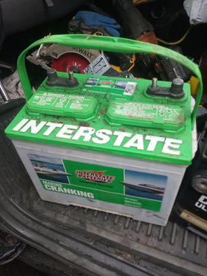 Interstate Marine Battery x2 for Sale in Portland, OR