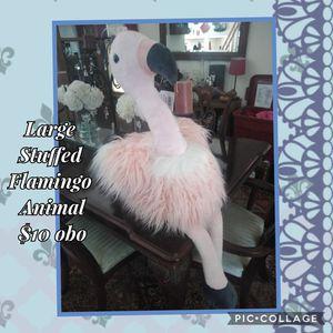 Stuffed Flamingo Animal for Sale in Thornton, CO