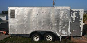 All stainless steel custom built trailer for Sale in Santa Ana, CA