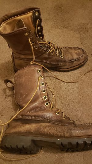 Work boots, well worn, but decent quality. for Sale in Columbus, OH