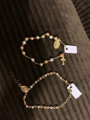Virgin Mary bracelets for Sale in Fontana, CA