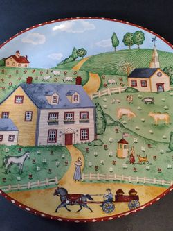 Sango Decorative Plate – Vintage for Sale in Richmond,  TX