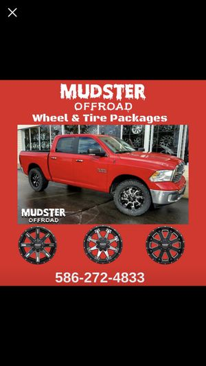 """20"""" Mudster Off Road Wheel & Tire Package-We Ship! for Sale in New York, NY"""