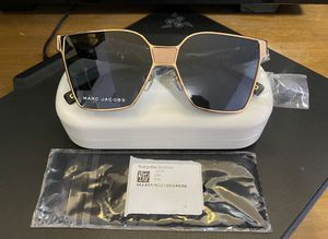 Marc Jacobs Rectangle Gold Smoke Sunglasses Marc 212/S for Sale in Portland, OR