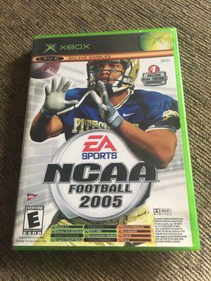 NCAA football 2005 and topspin for Xbox for Sale in San Diego, CA