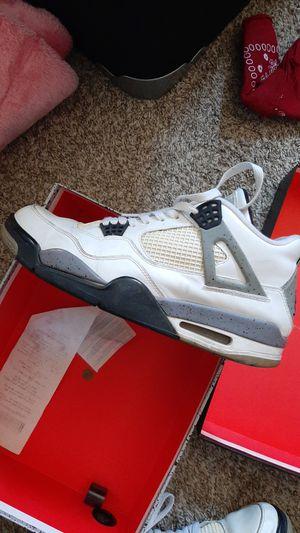 Jordan retro cement 4 for Sale in Phoenix, AZ