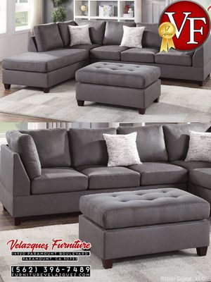 **SAVER** 3PC SECTIONAL SOFA+CHAISE+AUTTOMAN $548 for Sale in Covina, CA