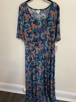 Brand New Lularoe Ana Maxi Dress Size 2x A-line Style for Sale in Muncy,  PA