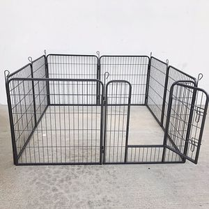 "New in box $90 Heavy Duty 32"" Tall x 32"" Wide x 8-Panel Pet Playpen Dog Crate Kennel Exercise Cage Fence for Sale in South El Monte, CA"