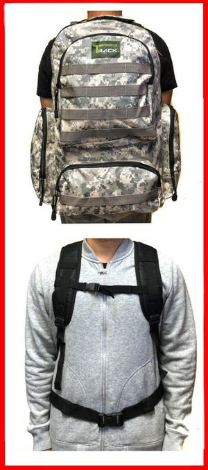 Brand NEW! Large Grey Digital Backpack For Traveling/Everyday Use/Outdoors/Hiking/Biking/Camping/Sports/Gym/Fishing/Gifts for Sale in Torrance, CA