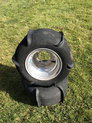 Atv sand paddle tires for Sale in Littleton, CO