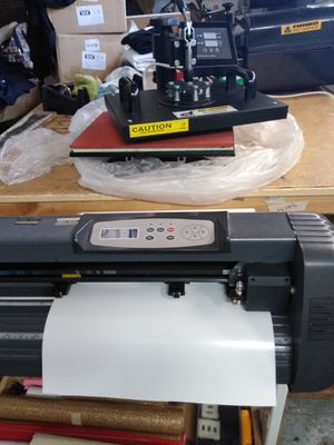 450 $ heat press and cutter for Sale in Hacienda Heights, CA