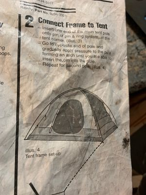 10x8 Coleman tent for Sale in Sunnyside, WA